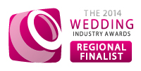 2014 Wedding Industry Award finalist